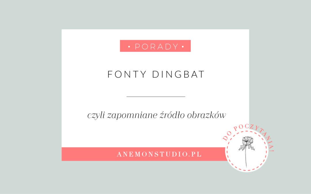 Fonty dingbat – zapomniane źródło obrazków