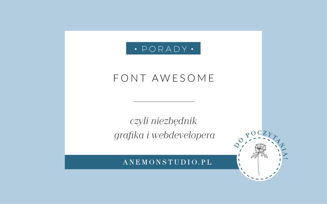 Font Awesome – niezbędnik grafika i webdevelopera
