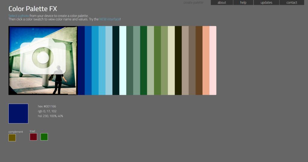 jak dobrać kolor do projektu - palettefx