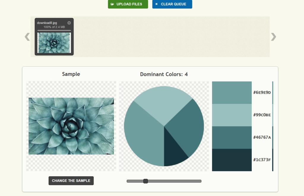 jak dobrać kolor do projektu - palettegenerator