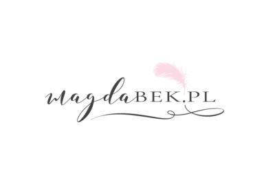Projekt logo dla Magdy Bek