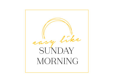 Projekt logo dla Sunday Morning