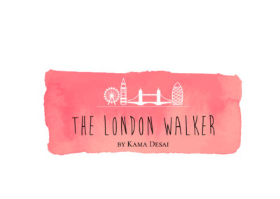 Projekt logo dla bloga The London Walker