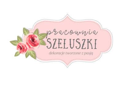 Logo dla marki Pracownia Szeluszki 2